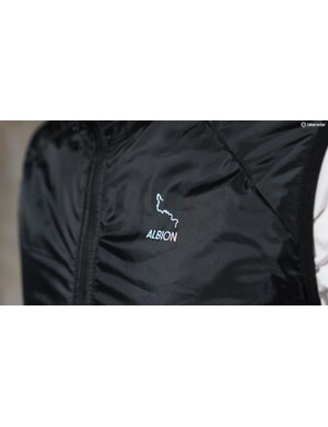 The vest material is sourced from Japan, uses recycled insulation material and is made in Italy