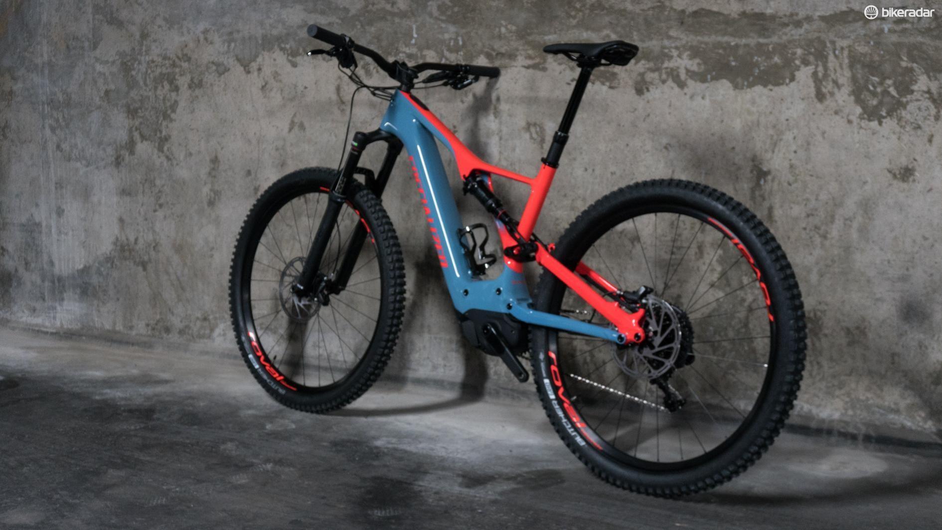 The Turbo Levo is one mean lookin' bike