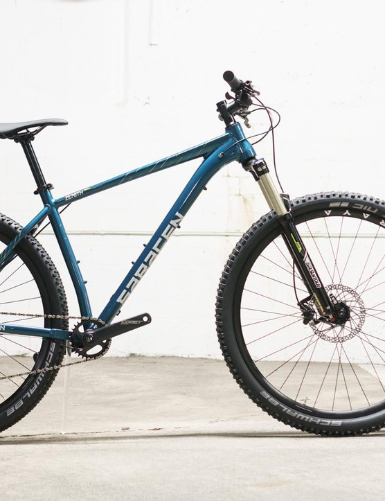 The Saracen Zenith Trail ticks all of the 'modern trail hardtail' boxes