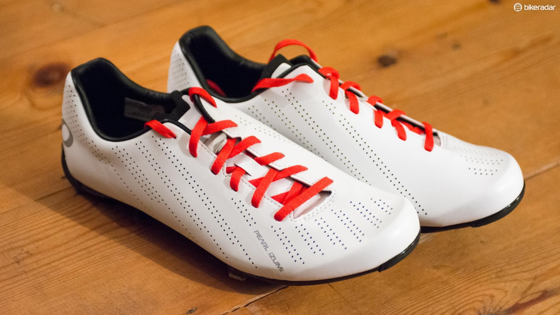These reasonably priced kicks from Pearl Izumi look great