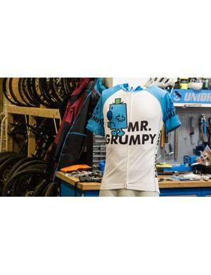 The Mr. Grumpy cycling jersey