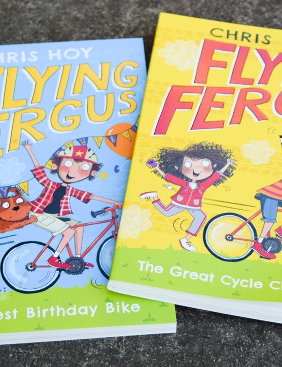 Sir Chris Hoy's children's books are now on bookstore shelves