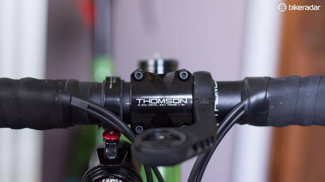 The X4 stem opens up interesting light-mounting options