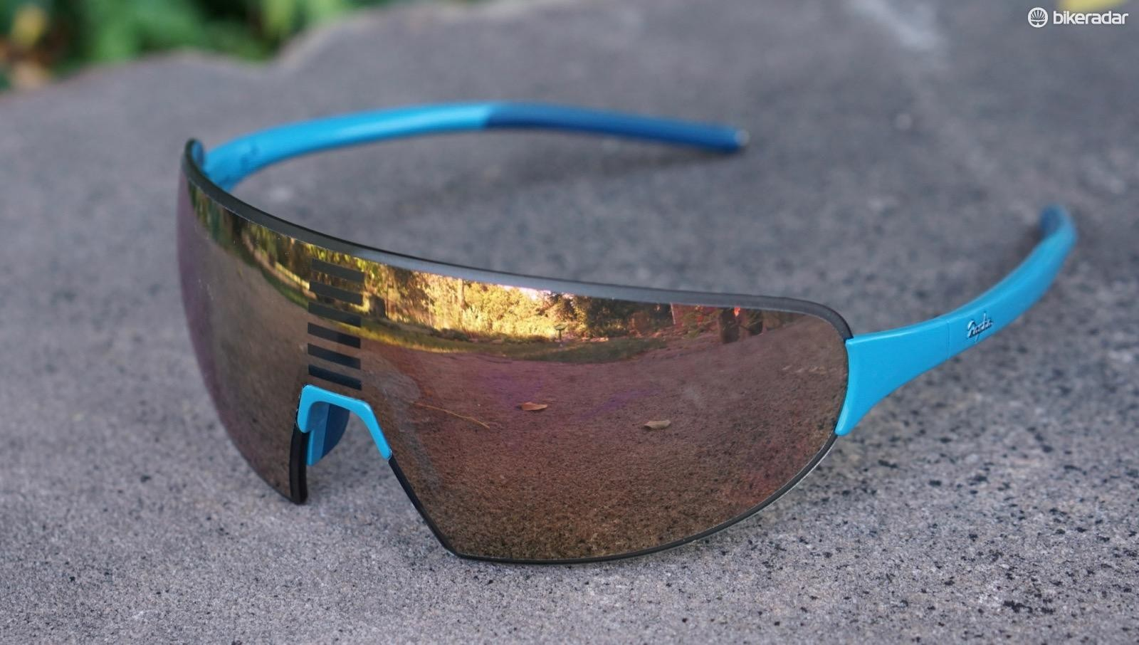 Rapha Pro Team Flyweight sunglasses live up to their name