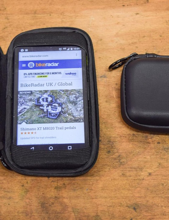Delicate smartphones will feel a little more secure within a VeloVita Pocket Pack