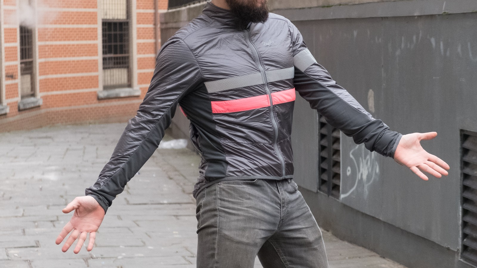 The Brevet jacket is also 'jazz-hands' compatible