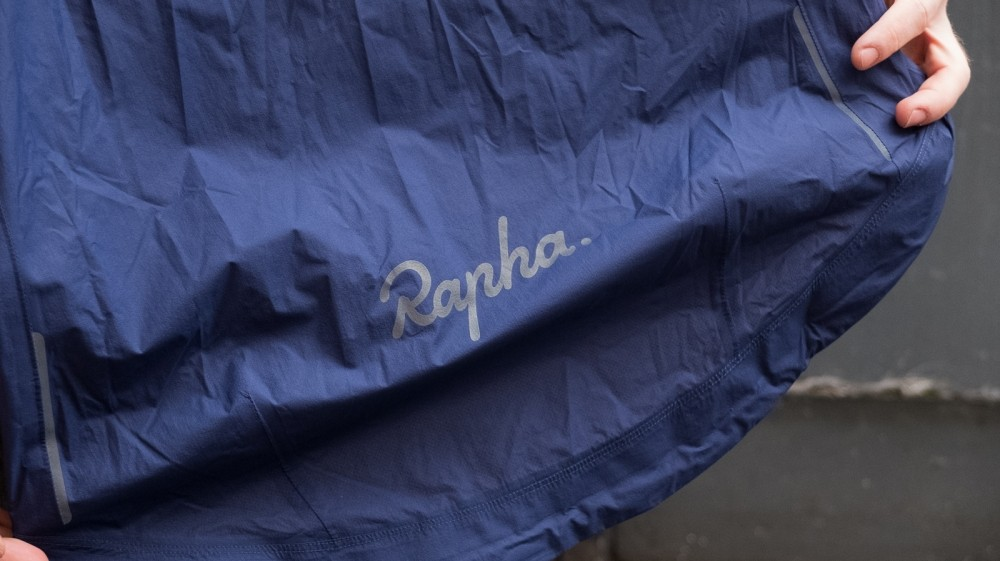 As is expected from Rapha, the branding is subdued and simple