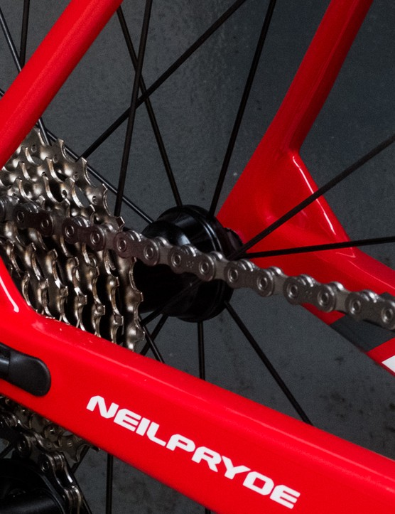 The main tube junctions are 'webbed' to improve stiffness