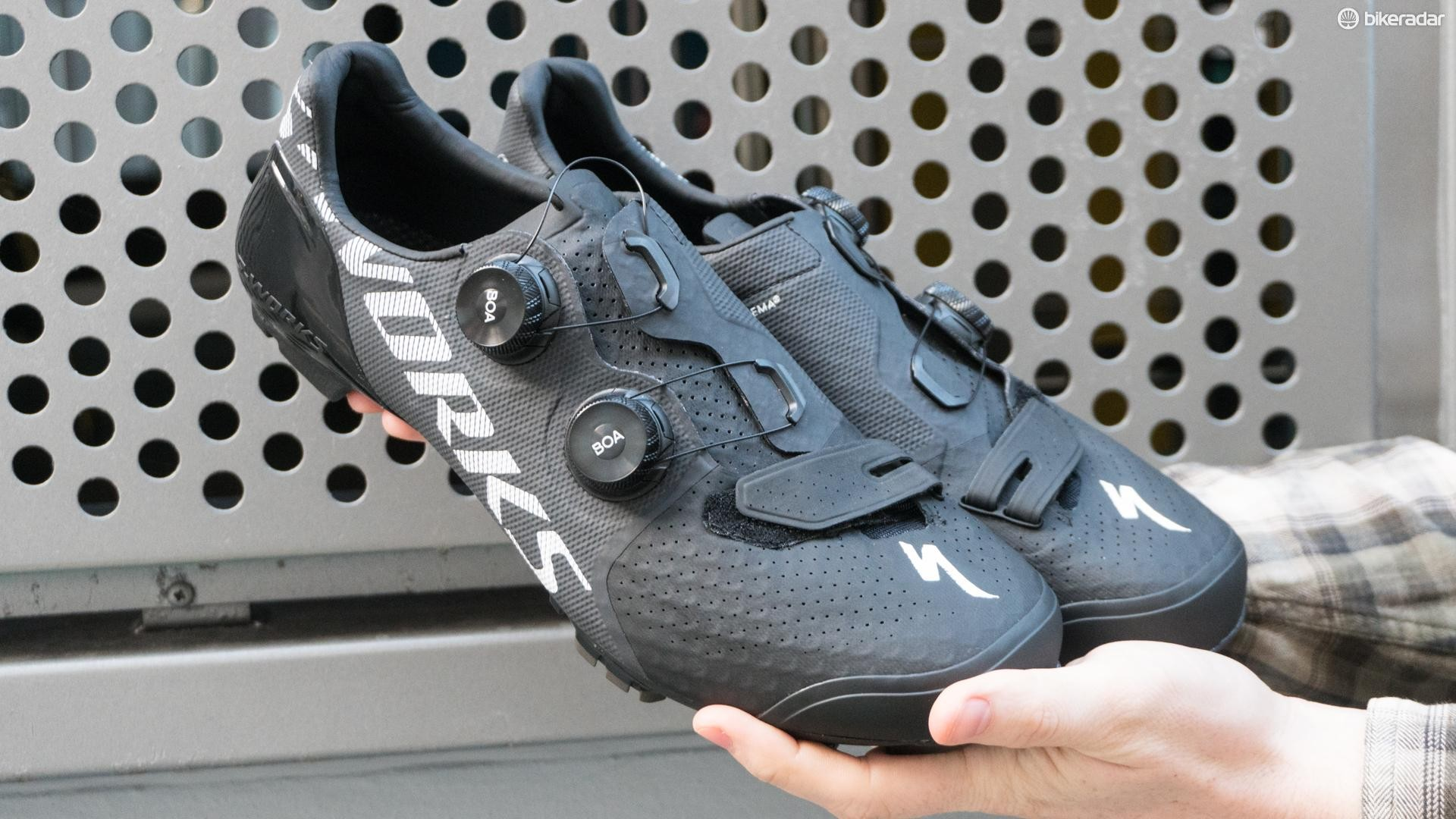 The S-Works Recon is Specialized's latest and greatest off-road shoe
