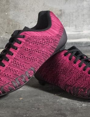The Giro Empire E70 W Knit shoes have a fairly unique texture