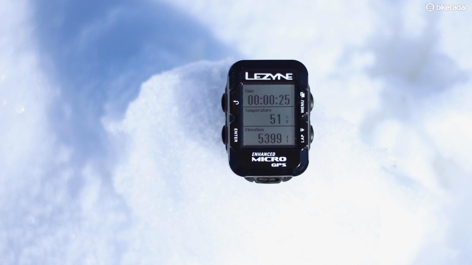 Lezyne packs an impressive amount of features into the Micro GPS