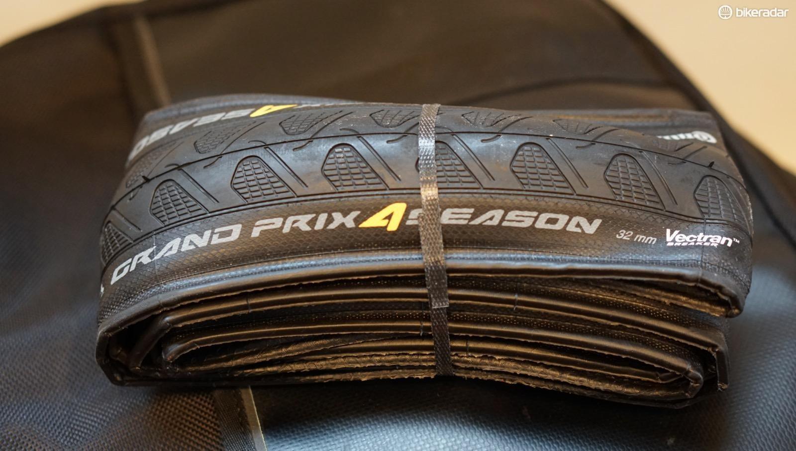 Tis the season for 4 Season. Continental has a new 32mm Grand Prix 4 Season for the US market