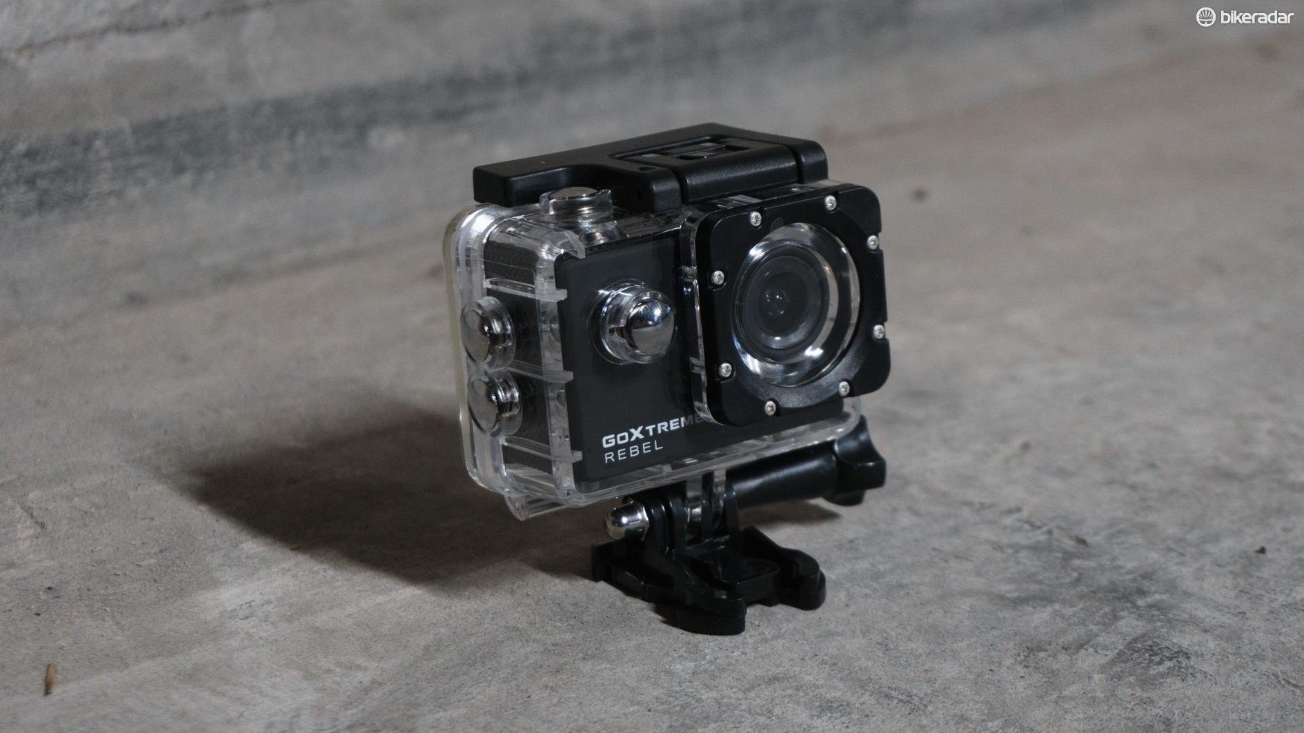 The GoXtreme Rebel is also waterproof up to 30mm, according to the manufacturers