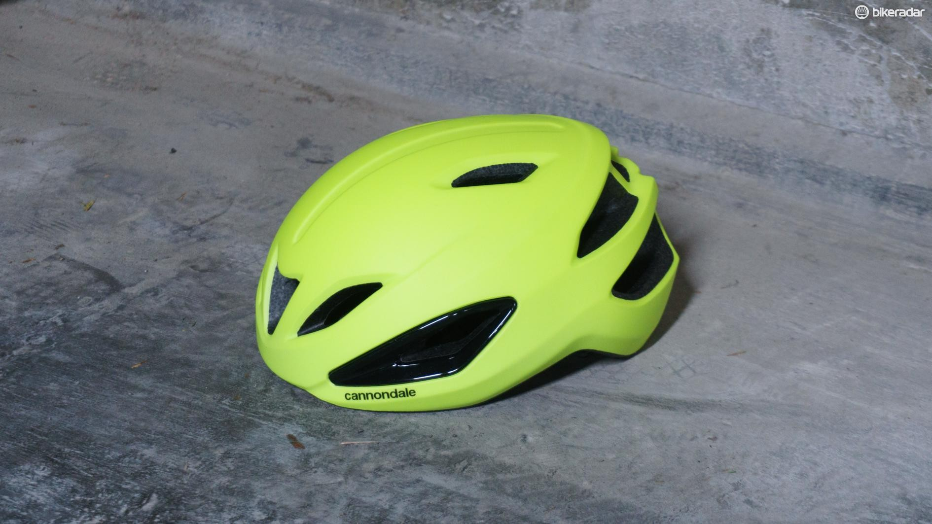 The Intake is available in a bright hi-vis yellow or a more stealthy black