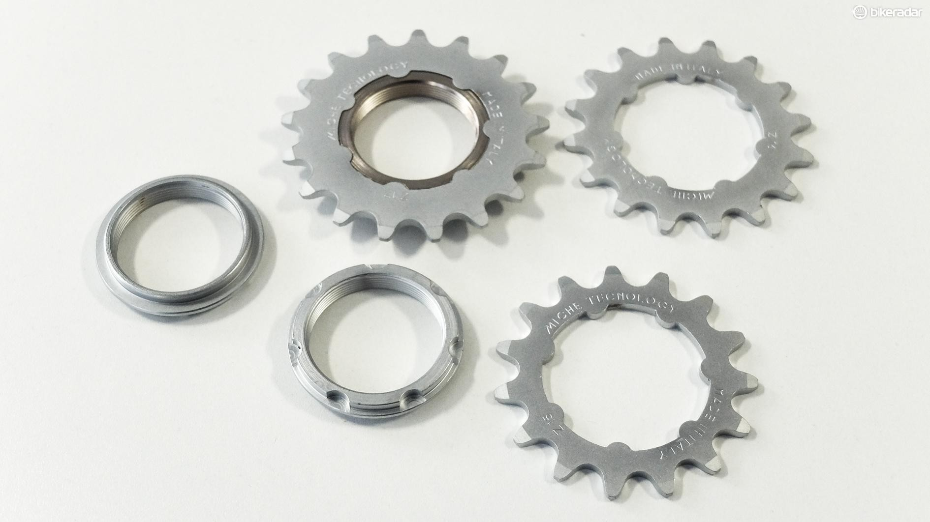 Convenient fixed-gear cogs from Miche