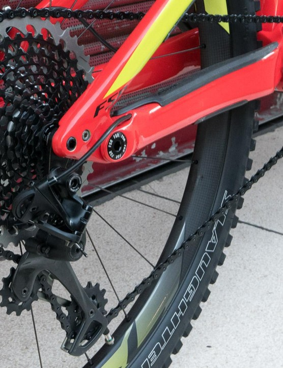 Eagle is a fittingly posh groupset for a bike of this calibre