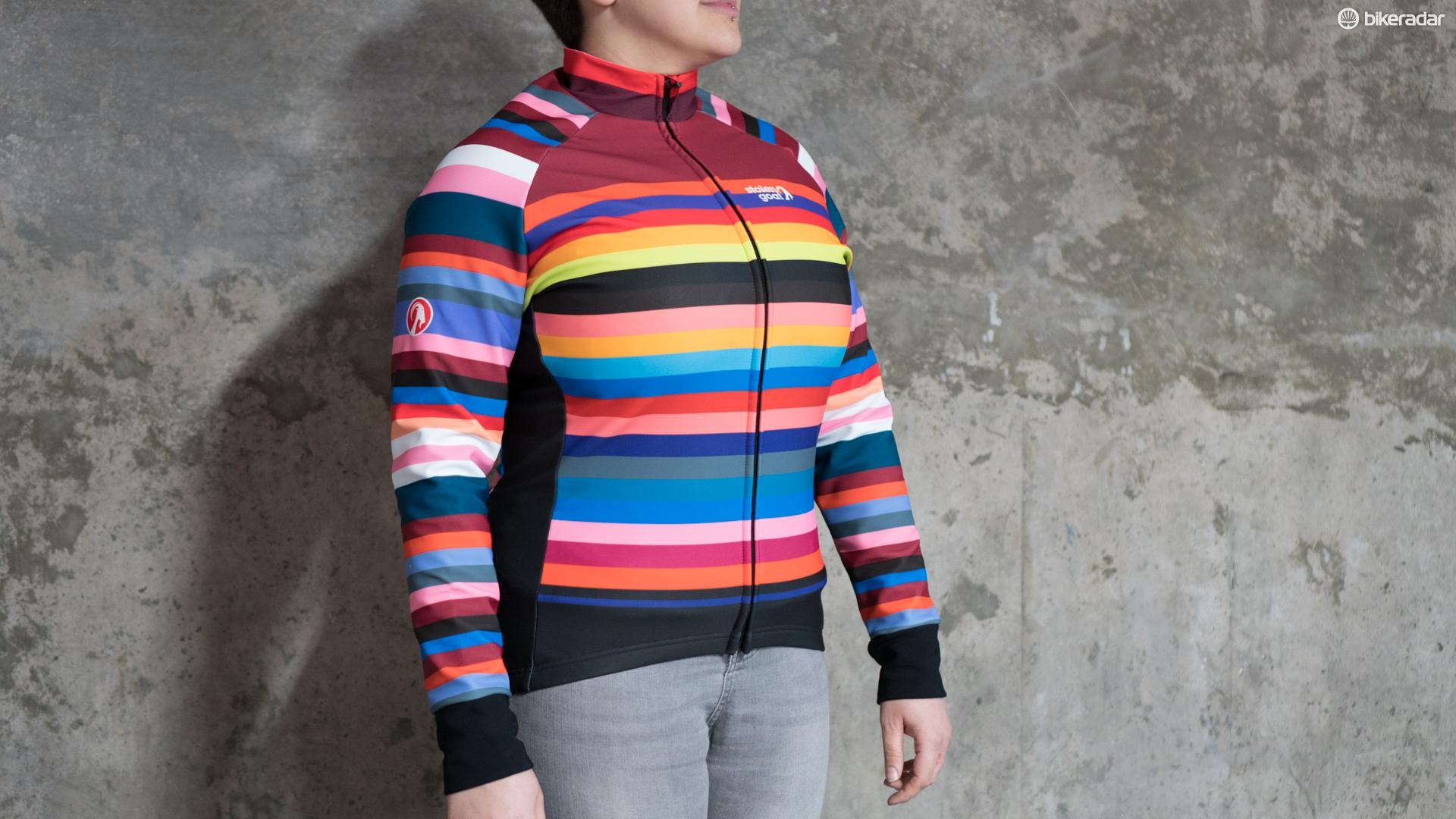 The Stolen Goat Climb and Conquer is a women's winter jacket that has a lovely fleecey lining