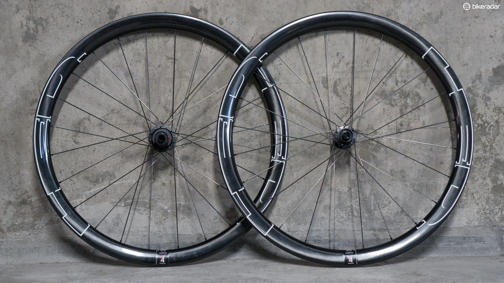 The HED Vanquish 4 wheelset is disc-only, tubeless-ready and designed to be versatile