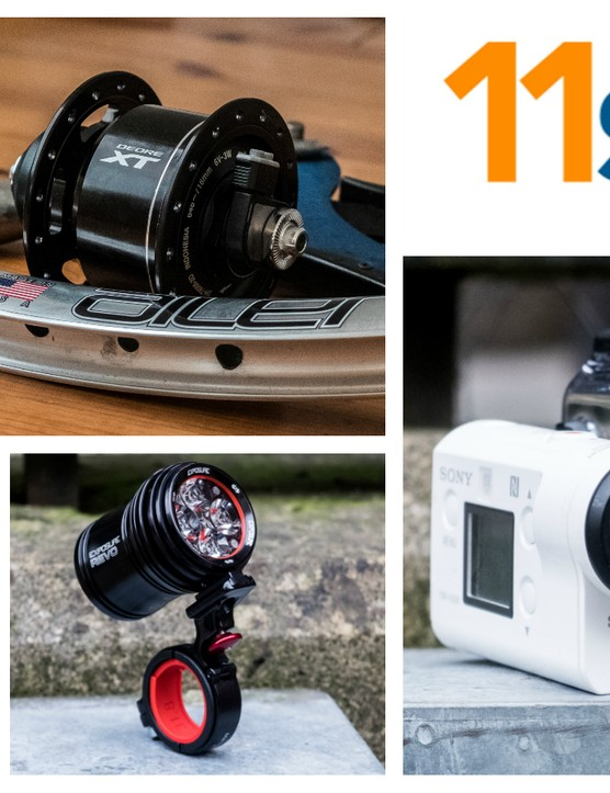 We've got dynamo lighting, jazzy kit, new cameras and lots more in this week's edition of 11spd