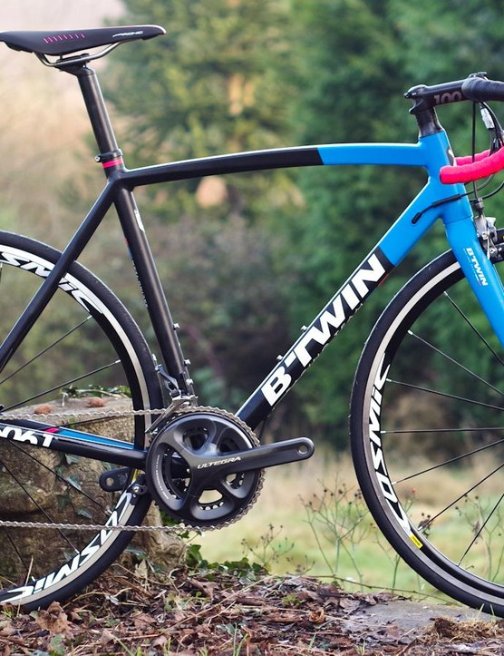 The BTwin Ultra AF is a lot of bike for the money