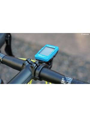 The Out Front Mount works with all Lezyne GPS units