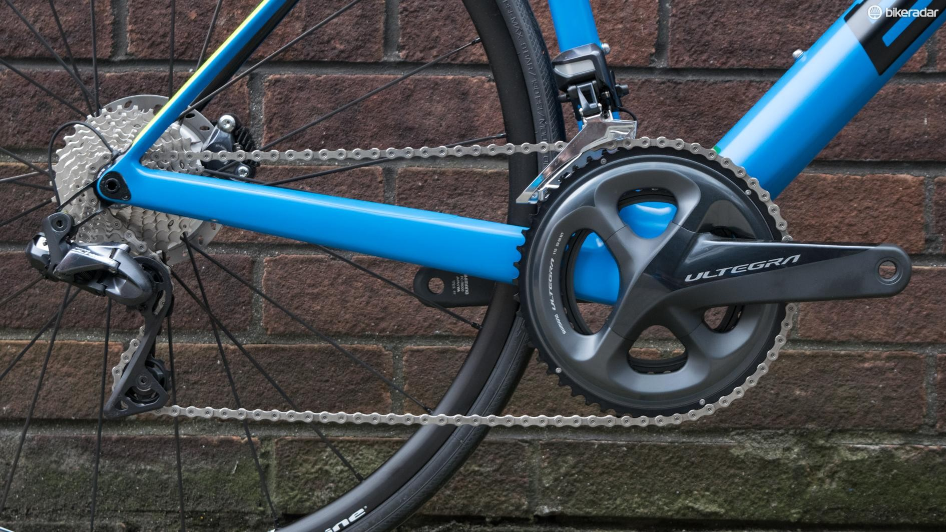 Shimano's latest Ultegra Di2 groupset is a welcome sight