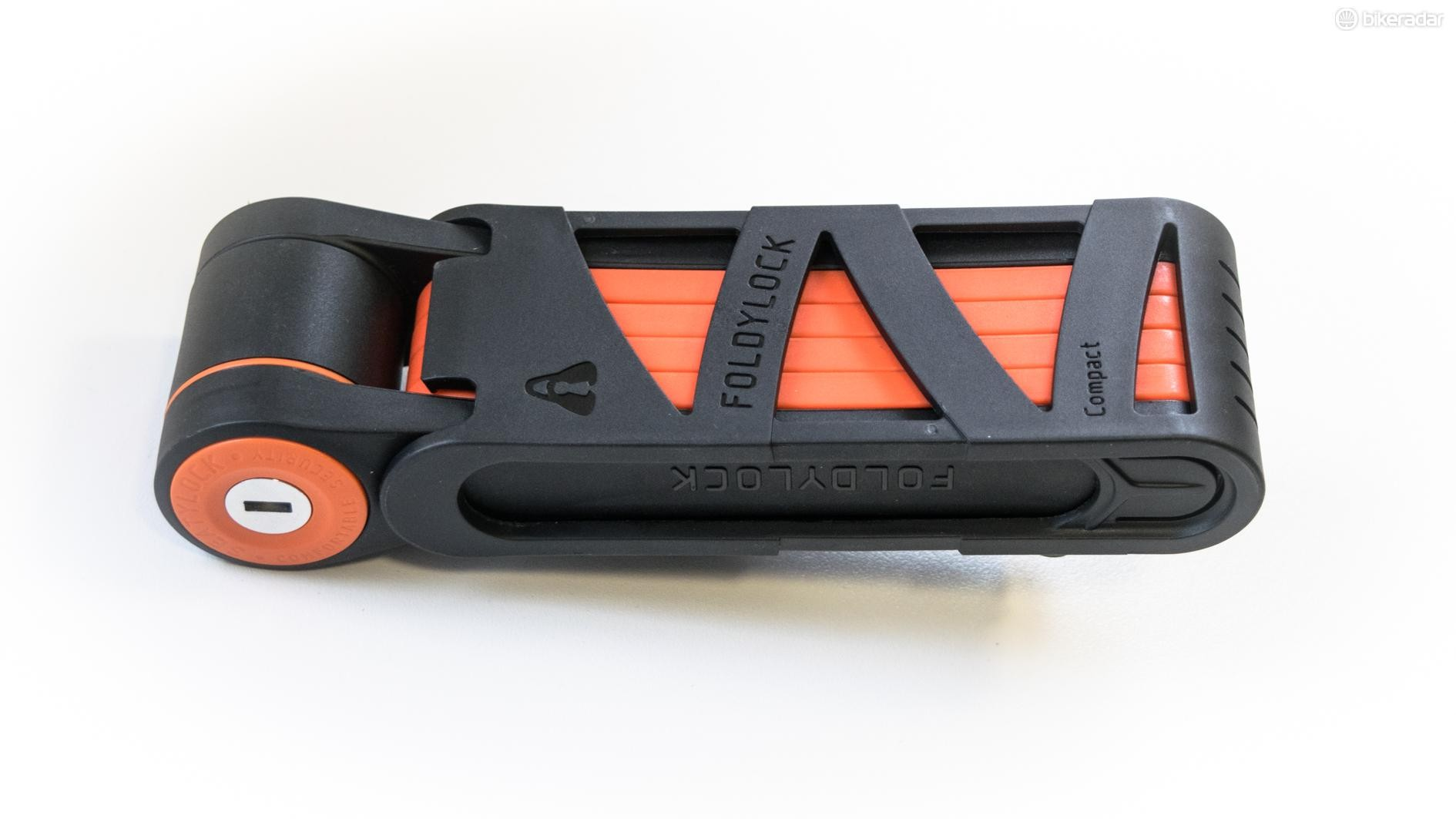 The Foldylock's mount attaches to your frame using either straps or your bottle bosses