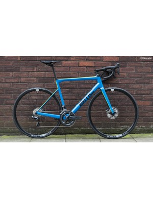 The BMC SLR02 Disc One is a handsome racer with discs