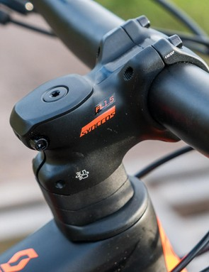 We like the specially shaped stem spacers
