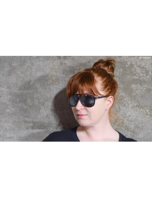 Aoife sporting Shimano's sunnies
