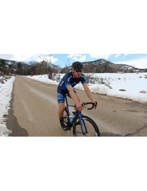 Pearl Izumi divided its road line into the performance-minded Pursuit shown here, and the more relaxed Escape line