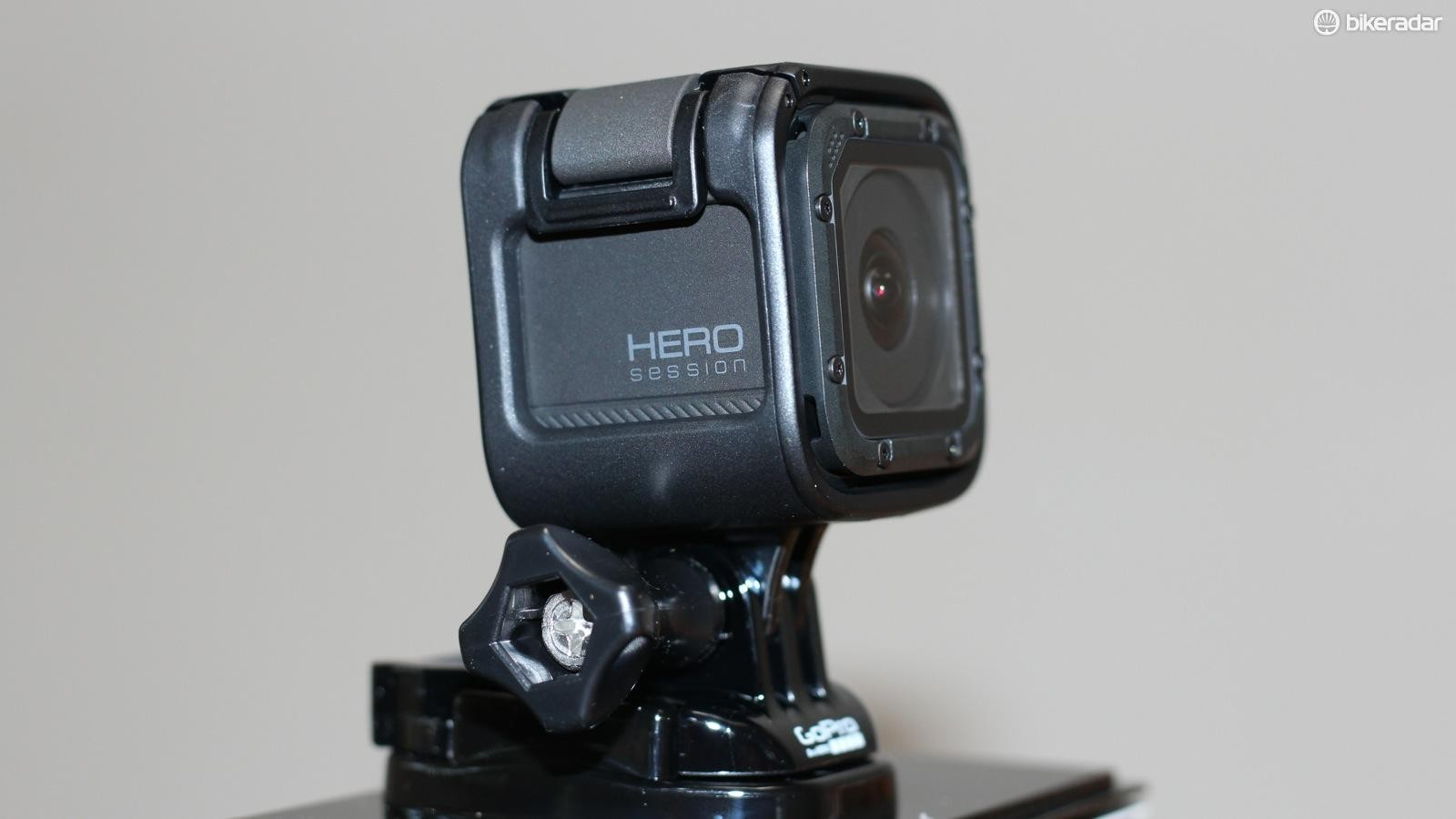 The GoPro Hero Session is a compact, one-button camera