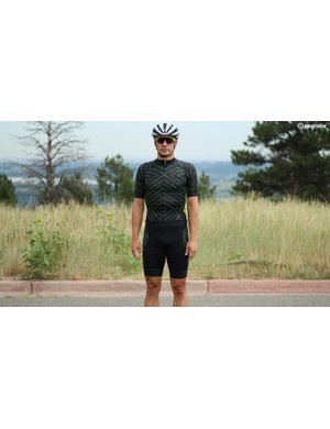 Hincapie's Edge kit features longer sleeves and a silky feel