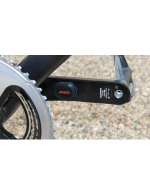 4iiii's Precision 2.0 power meter comes on a variety of metal cranks
