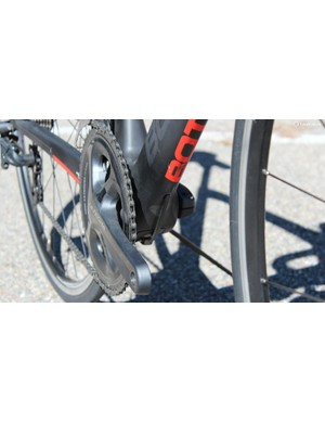 The T1 Tourmalet comes in a variety of build packages using the company's aerodynamic frame