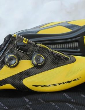 Mavic's 2016 Cosmic road shoe