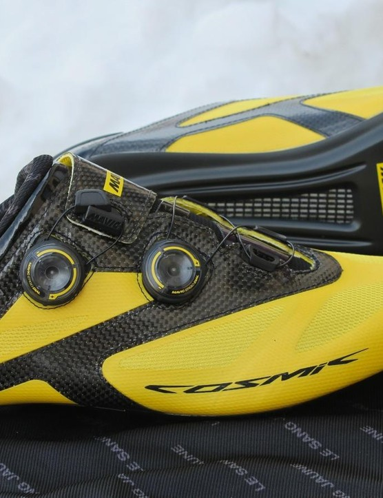 Mavic's 2016 Cosmic road shoe