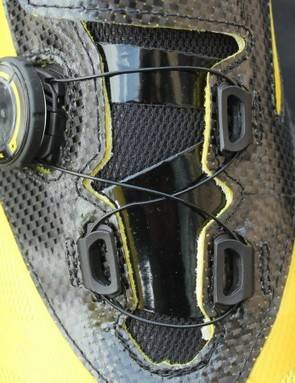 Tongue protectors prevent the laces from digging into your foot, and Ergolite foam insoles enhance comfort