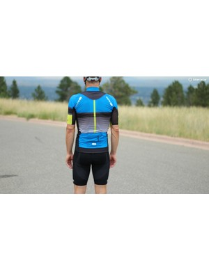 The RSE jersey has a zippered fourth pocket for valuables