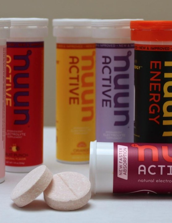 Nuun continues to roll out new flavors of its ultra-low-calorie Active and caffeinated Energy tablets