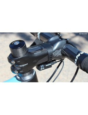 The OverDrive steerer uses 1 1/4in top and 1 1/2in lower bearings.