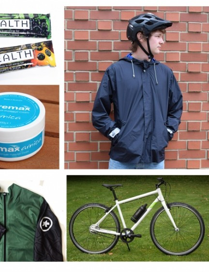 New shiny gear with ebikes and stretchy lycra galore!