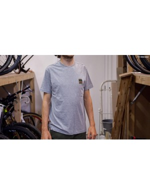 For cycling T-shirts, they're relatively tasteful and subdued