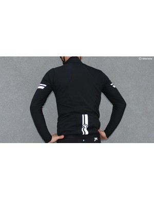 Four-way stretch windproof material with thermal backing is designed to keep you warm without bulk