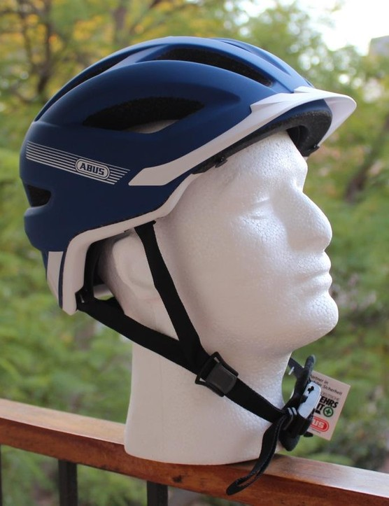 The Abus Hyban commuter helmet