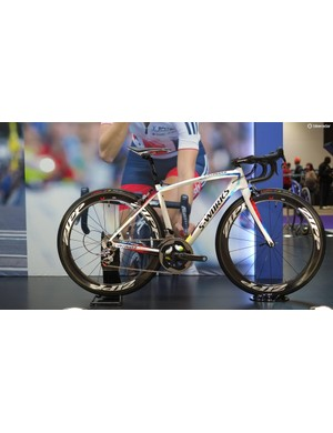 Here's Lizzie Armitstead's World Champion's Specialized Amira