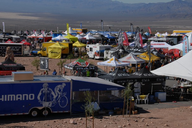 The Outdoor Demo Day at Interbike 2007