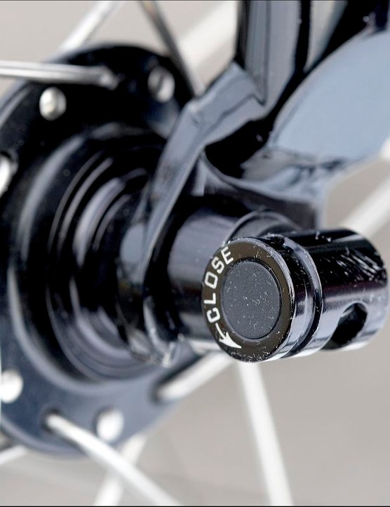 Removable levers increase quick release security