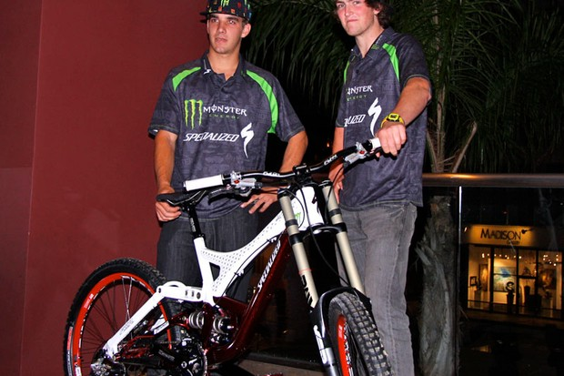 Team Monster Energy's Sam Hill and Brendan Fairclough announce they are staying with component maker SRAM for the next three years.