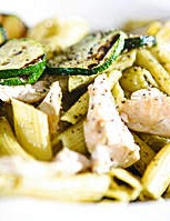 Quick and easy pasta dish to sort you out after a hard ride